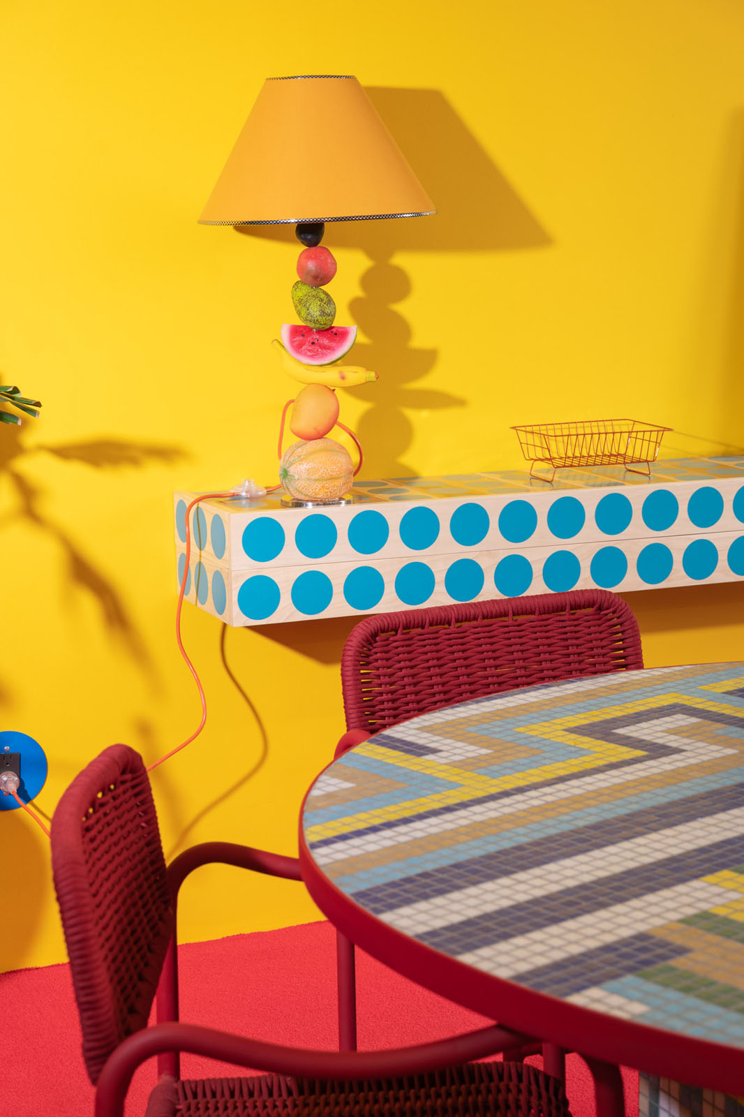 AGO Fruit Lamp and Table